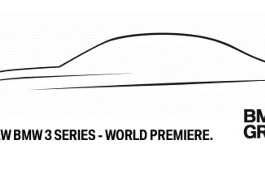 Penktadienį – naujojo 3 serijos BMW premjera