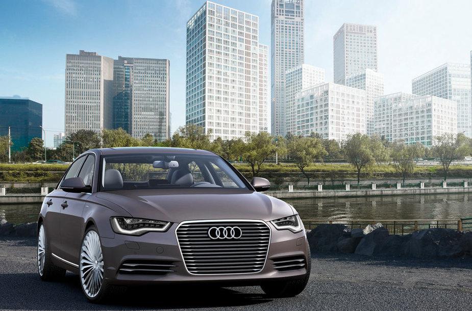 """""""Audi A6 e-tron"""" koncepcija"""