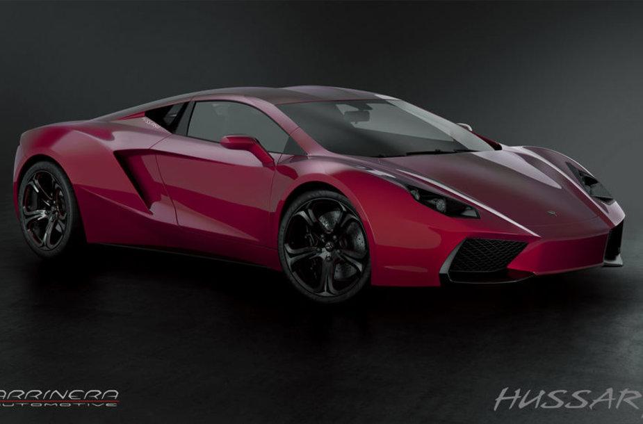 """Lenkiškas superautomobilis gavo vardą – """"Arrinera Hussarya"""""""