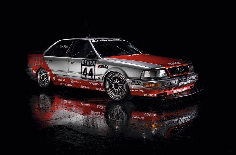 """1992 m. """"Audi V8 quattro"""" DTM lenktynėms"""