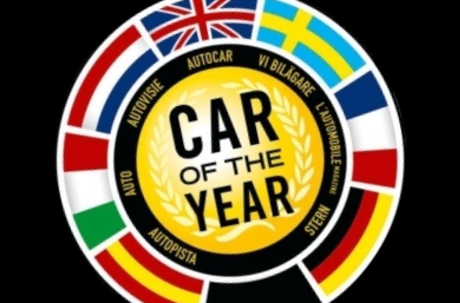"""""""Europos metų automobilio"""" rinkimai"""
