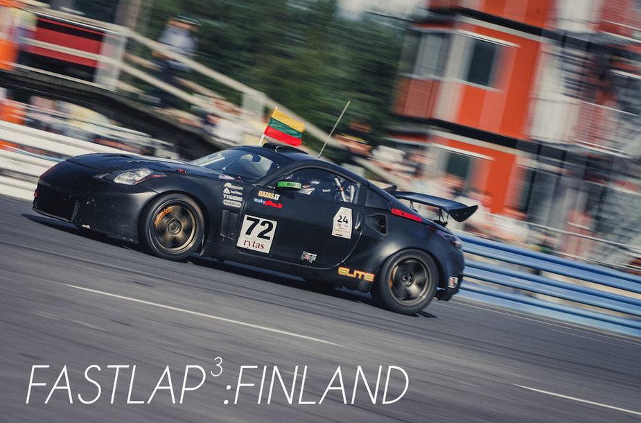 """""""FastLap""""! Nuotykiai Suomijoje, """"Ahvenisto"""" trasoje"""