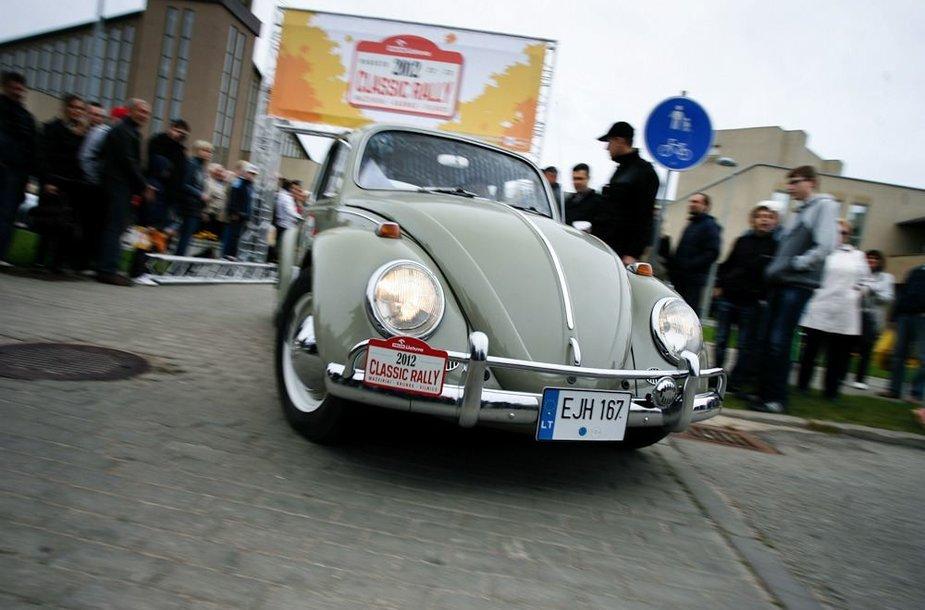 """""""ORLEN Lietuva Classic Rally"""" startas"""