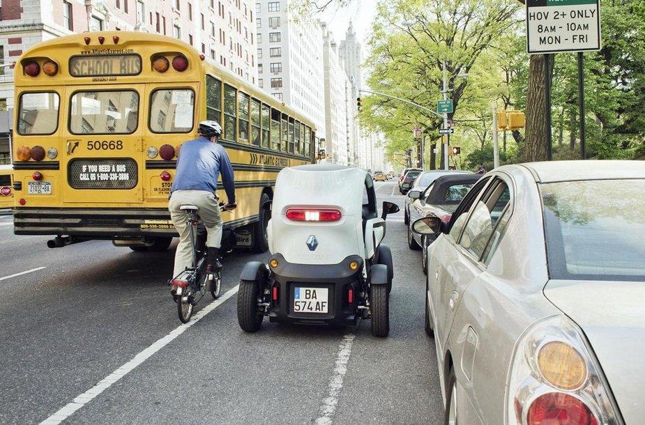 Komunikacija keliuose užtikrina saugumą