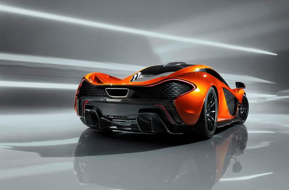 """McLaren P1"" koncepcija"
