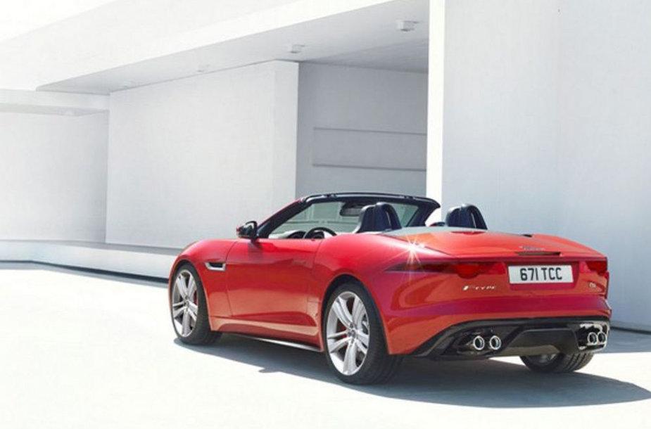 """Nutekėjusios naujojo """"Jaguar F-Type"""" nuotraukos"""