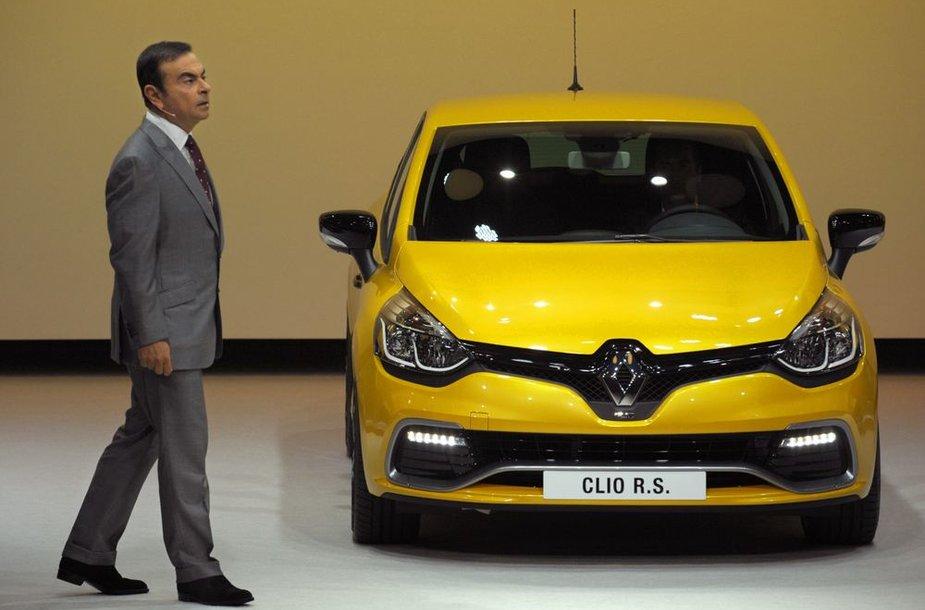 """Carlosas Ghosnas pristato """"RenaultSport Clio"""""""