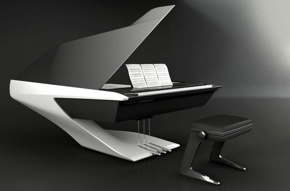 """Peugeot Design Lab Piano Pleyel"" fortepijonas"