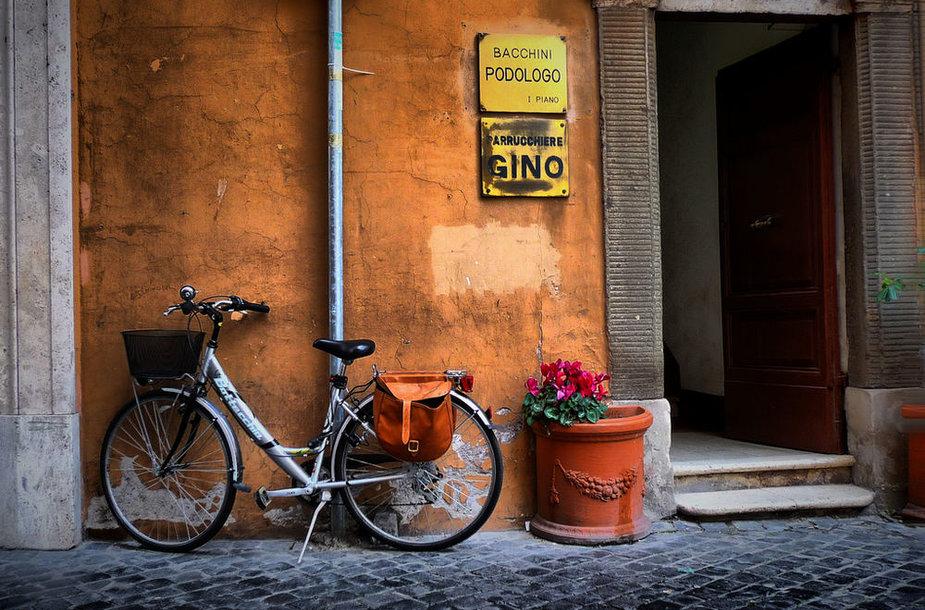Dviratis Italijoje