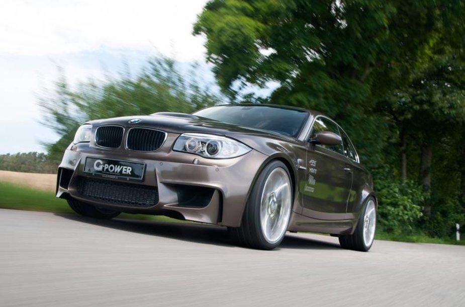 """600 AG galios 1 serijos BMW iš """"G-Power"""" dirbtuvių"""