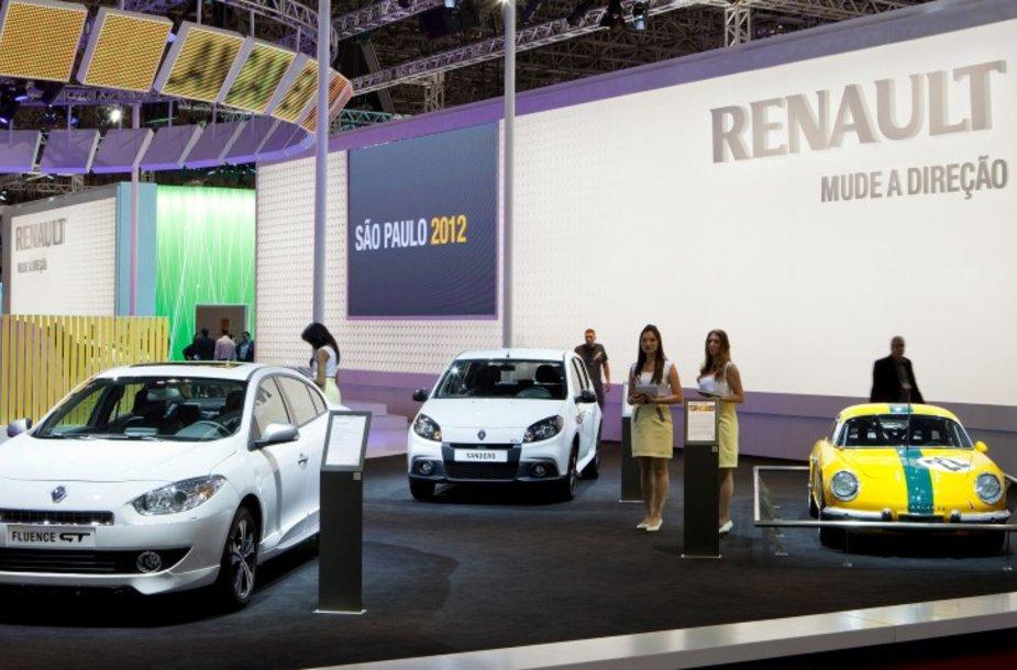 """""""Renault"""" Brazilijos automobilių parodoje"""