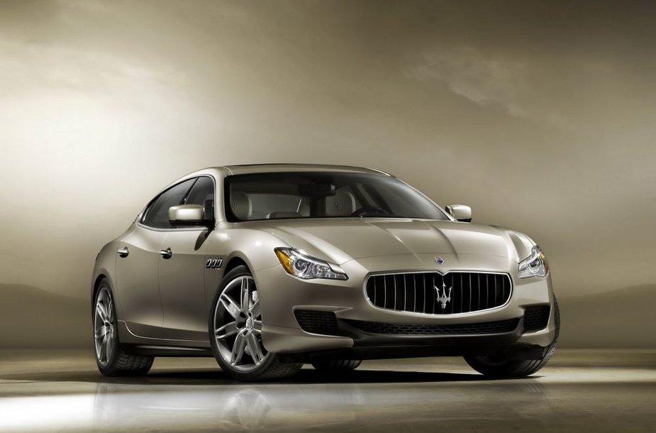 "Šeštos kartos ""Maserati Quattroporte"""