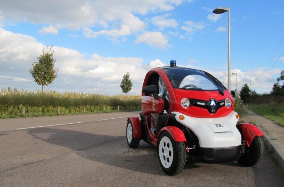 """Renault Twizy"" elektromobilis ugniagesiams"