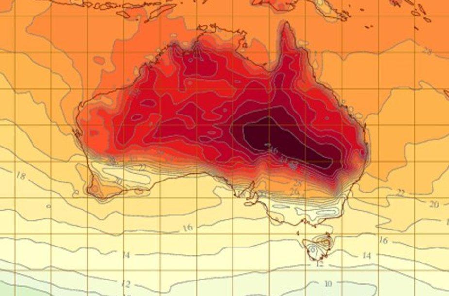 Karštis Australijoje