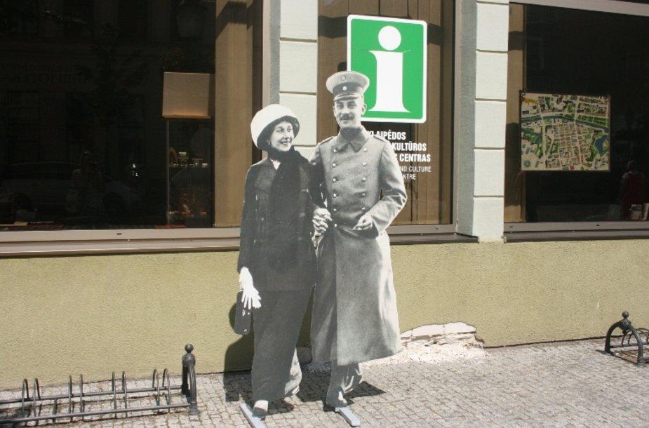 Senieji Klaipėdiečiai senamiestyje