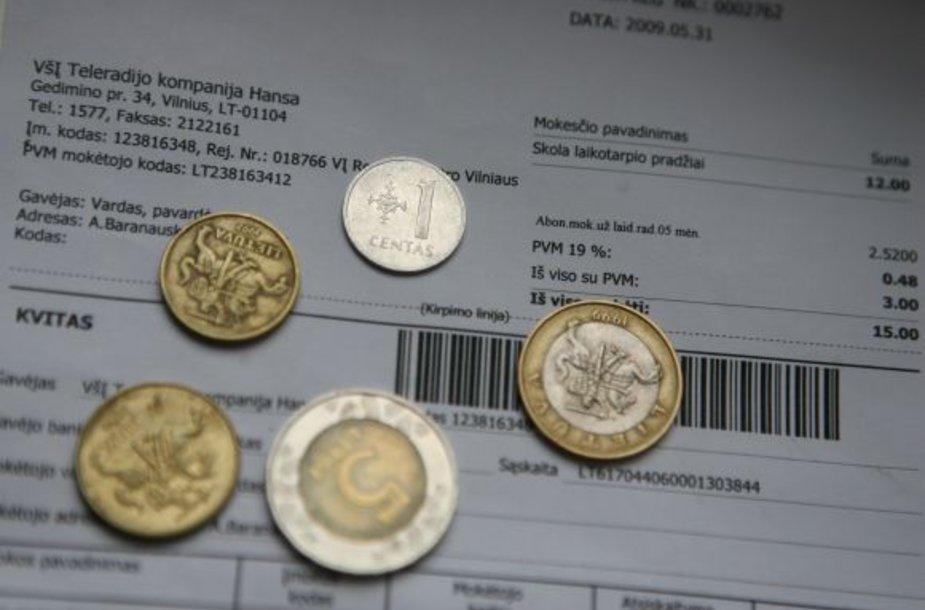 Šiuo metu Klaipėdoje bendros sąskaitos už komunalinius patarnavimus atsiskaitymo sistema naudojasi 5 tūkst. vartotojų.
