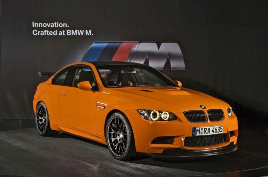 BMW M3 GTS – uraganas artėja