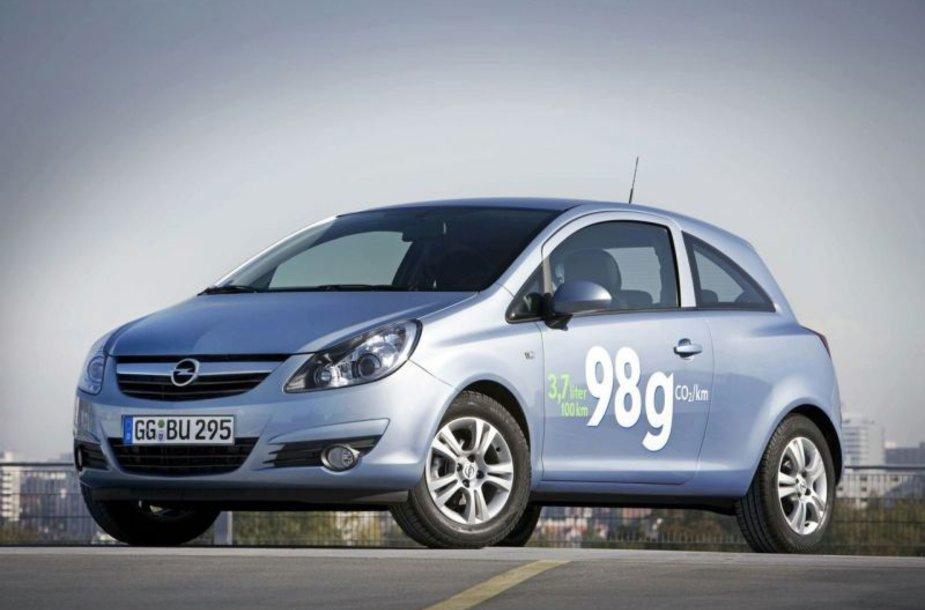 """""""Opel Corsa ecoFLEX"""" – taupus mažylis"""