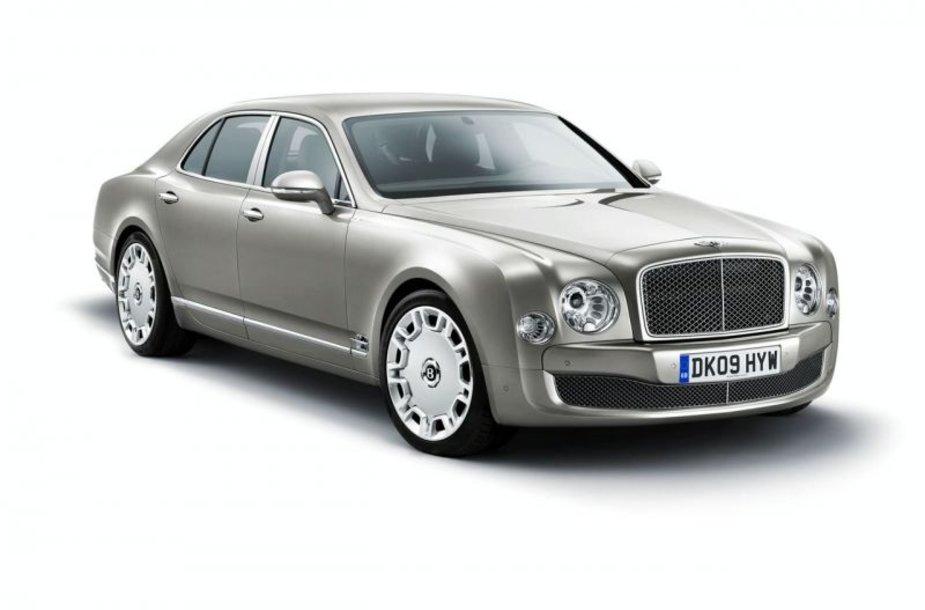 """""""Bentley Mulsanne"""" – rankų darbo limuzinas"""