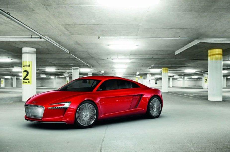 """""""Audi e-tron"""" koncepcija – 4 500 Nm sukimo momentas"""