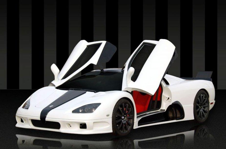 """Elektrinis """"SSC Ultimate Aero EV"""" – sensacijos belaukiant"""