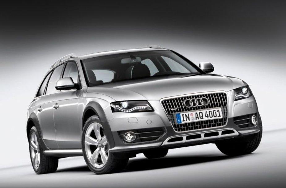"""""""Audi A4 Allroad Quattro"""" turėtų sulaukti simpatijų"""