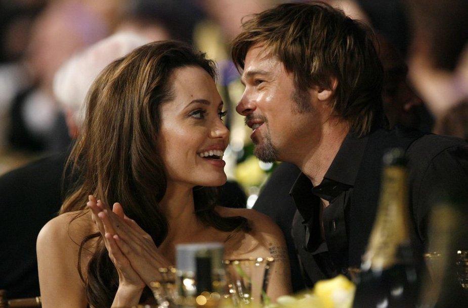 Angelina Jolie ir Bradas Pittas (2008 m.)