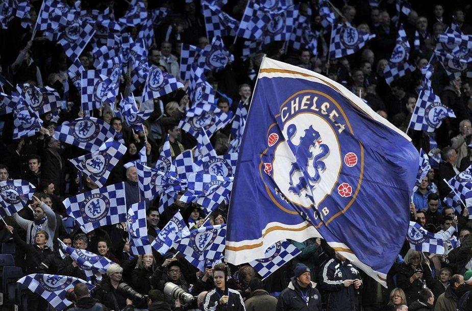 """""""Chelsea"""" gerbėjai"""