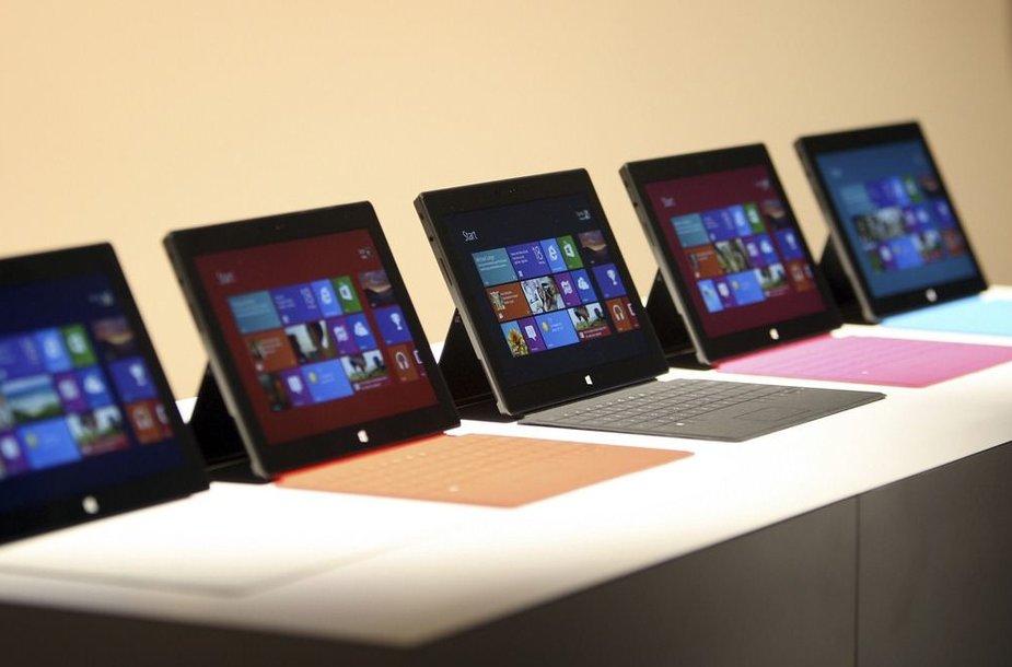 """""""Surface"""" planšetiniai kompiuteriai"""