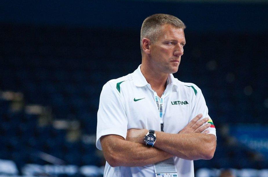 Treneris Arūnas Visockas