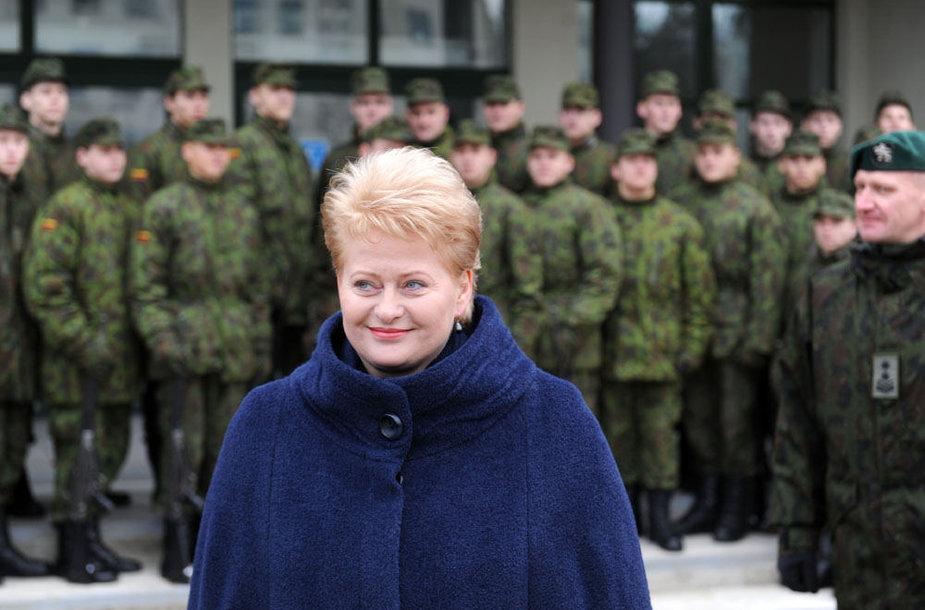 Prezidentė Dalia Grybauskaitė Rukloje