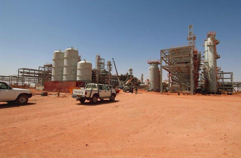 Dujų gamykla Alžyre