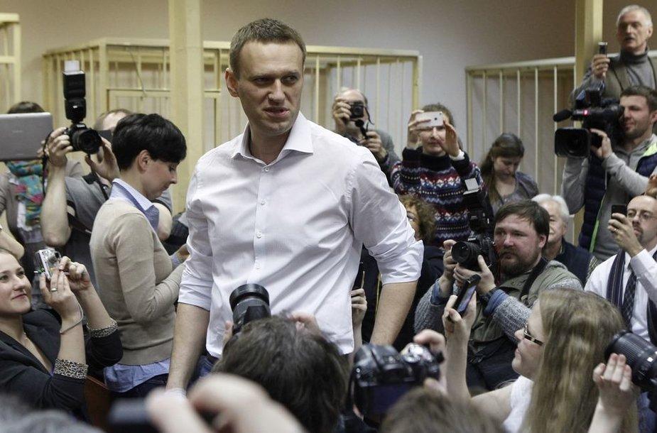 Aleksejus Navalnas teisme