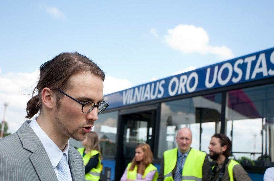 Vilniaus oro uosto vadovas Gediminas Almantas