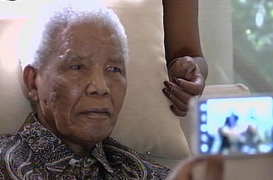 Nelsonas Mandela (2013 m.)