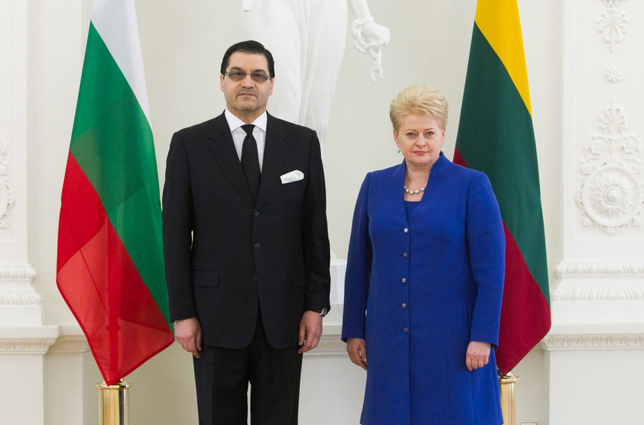 Vasilijus Takevas ir Dalia Grybauskaitė