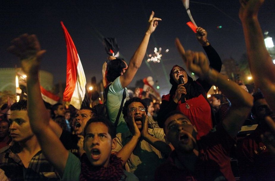 Protestuotojai Kaire reikalauja prezidento Mohamedo Mursi atsistatydinimo.