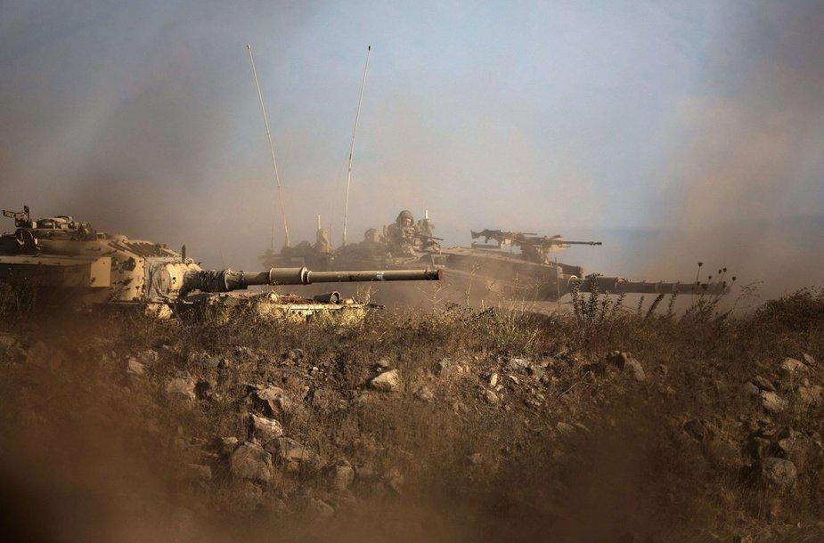 Izraelio tankai
