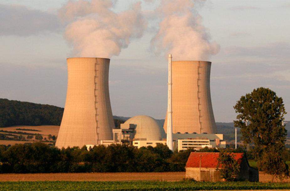 Grohndes atominė elektrinė buvo pradėta statyti 1975 metais.