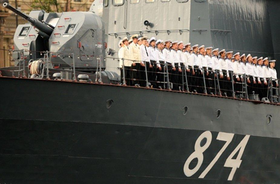 Rusijos karinio laivyno jūreiviai