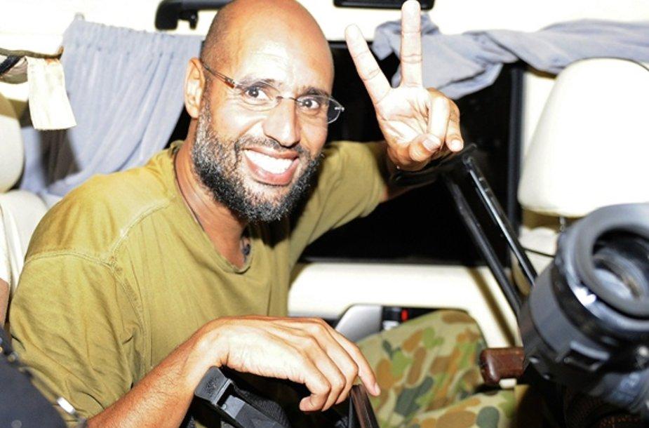 Muamaro Kadhafi sūnus Saifas al Islamas