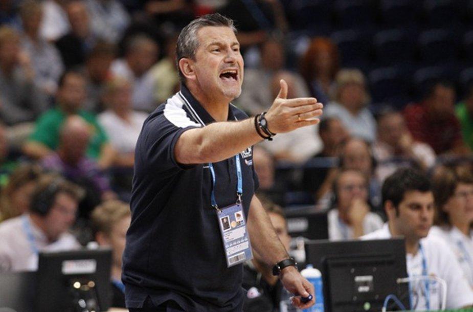 Graikijos krepšinio rinktinės treneris Ilias Zouras