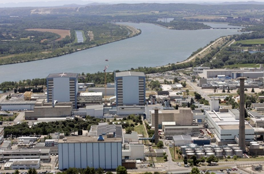 """""""Marcoule"""" Prancūzijos atominė elektrinė"""