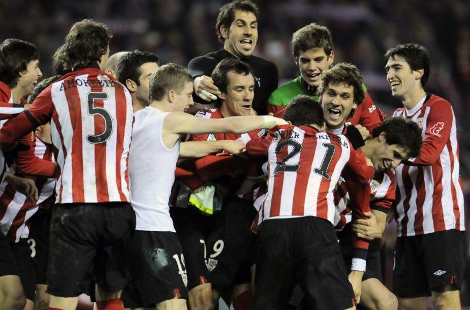 """Bilbao """"Athletic"""" keliauja į finalą"""