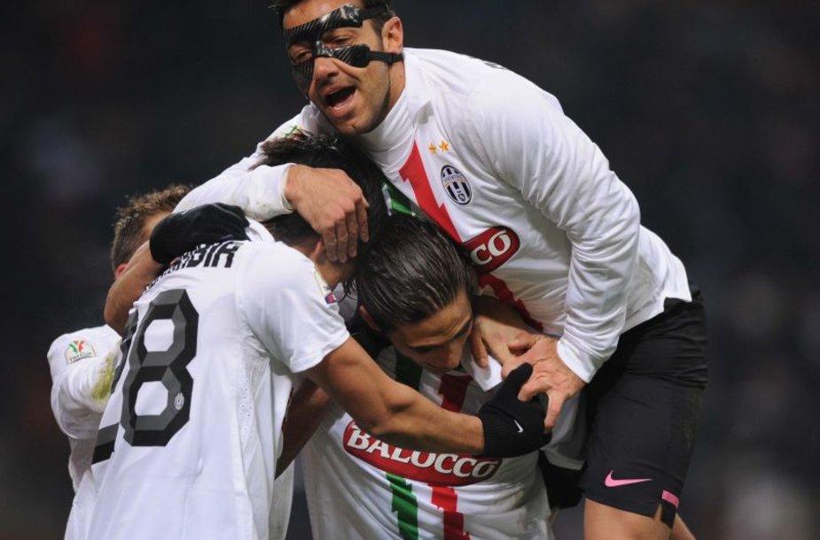 Turino futbolininkai šventė pergalę