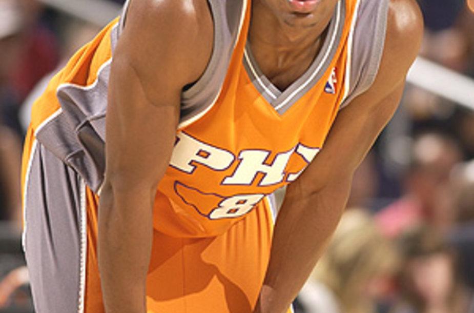"""D.J.Strawberry yra atstovavęs Finikso """"Suns"""" komandai."""