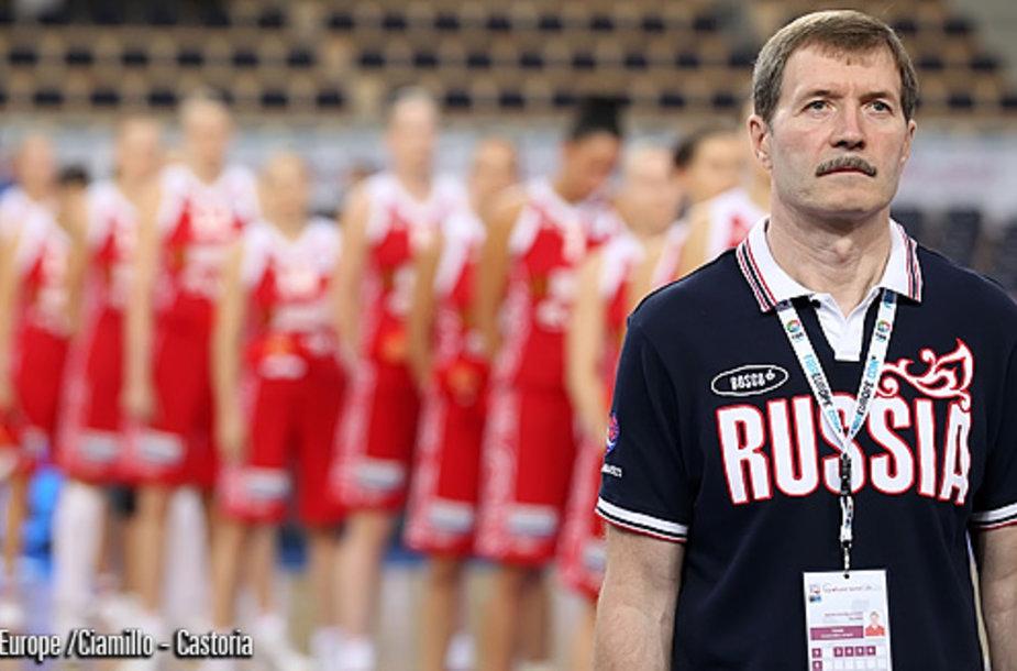 Rusijos rinktinė iškopė į finalą