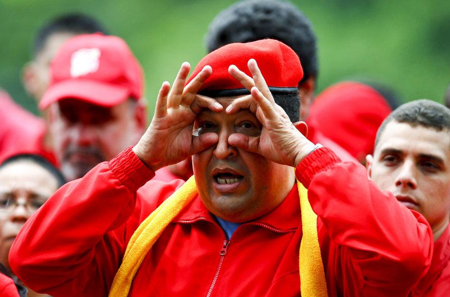Venesuelos prezidentas Hugo Chavezas