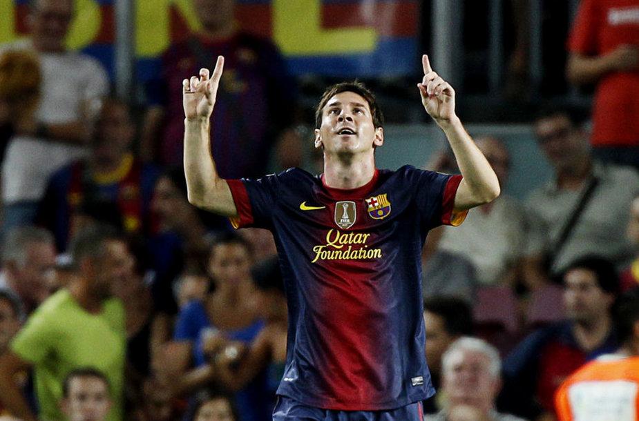 """Lionelis Messi - geriausias """"Netikro 9"""" pozicijos žaidėjas pasaulyje"""