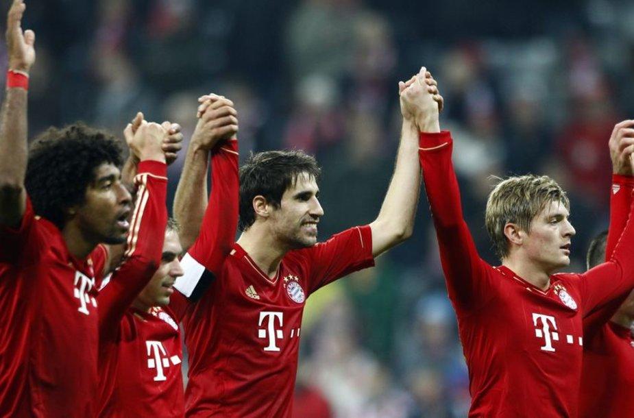 """""""Bayern"""" sutriuškino savo varžovus"""